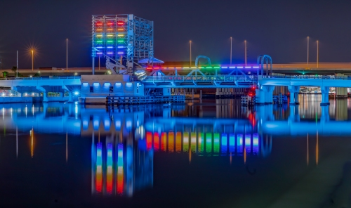 A - Tampa's Eclectic Draw Bridge