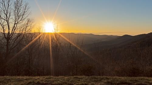 A - Blue Ridge Mountains
