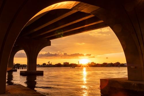 Assn. Sunset Beneath the Bayway