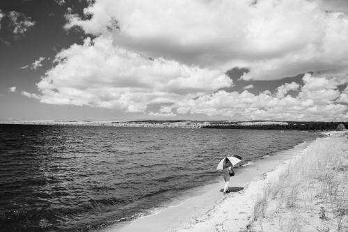 G- AR-Walking Along Lake Michigan
